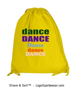 Large Drawstring Backpack  Design Zoom